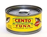 Cento - Italian Solid Light Tuna in Pure Olive Oil, (12) - 3 oz Cans
