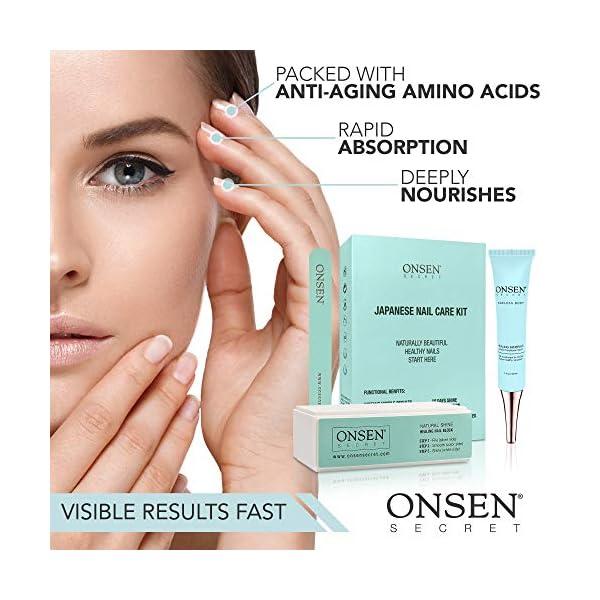 Beauty Shopping Onsen Japanese Nail Buffer and Shine Kit – Professional