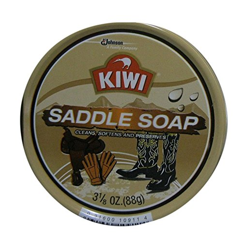 KIWI Saddle Soap 3.125 oz (Pack of 5)