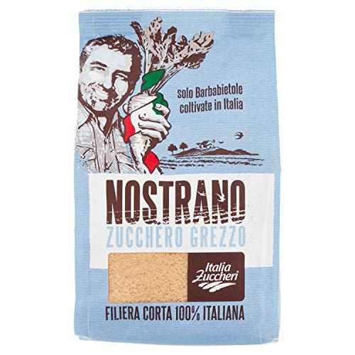 Italia Zuccheri Nostrano Zucco Grezzo di Barbabietola, 100% Italiano, 750g