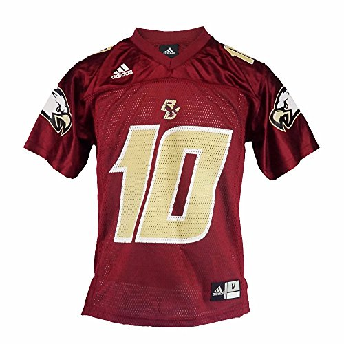 Boston College Eagles NCAA Adidas Youth rot Offizielles Home # 10Football Jersey, rot