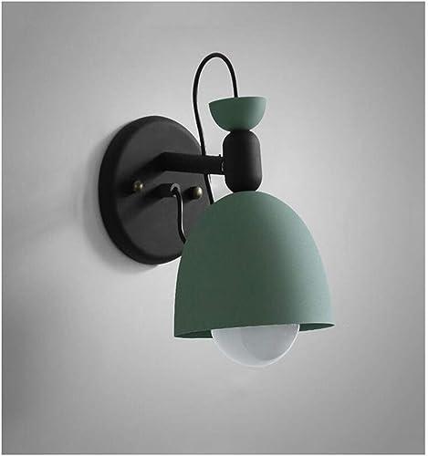 Lustre applique murale E27 1-lumière applique murale lumière spots pour salon allée bureau éclairage intérieur mur (couleur  vert)