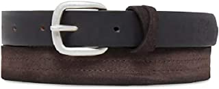 Best Womens/Ladies Casual Line Leather Belt (S) (Brown) Review