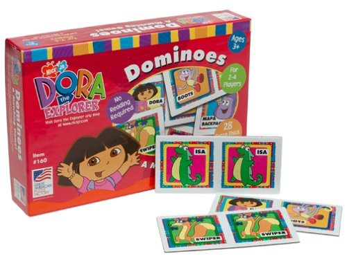 Dora the Explorer Dominoes by Great American Puzzle Factory