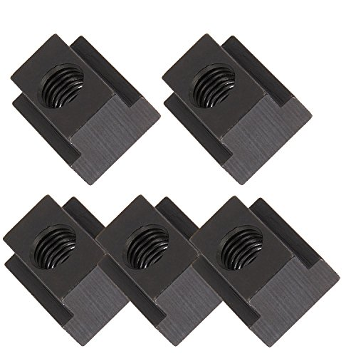 Mission Automotive 5-Pack of T-Slot Nuts - Ideal T Slot Nut for Toyota Tunda & Toyota Tacoma Pick-Up Truck Bed Deck Rails - Cleat/Cleats