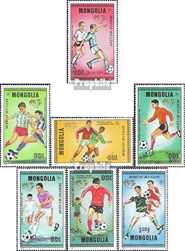 Prophila Collection Mongolei 1764-1770 (kompl.Ausg.) 1986 Fußball-WM 1986 in Mexiko (Briefmarken für Sammler) Fußball