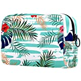 Bolsa para brochas de maquillaje personalizable, bolsa de aseo portátil para mujeres, bolso cosmético, organizador de viaje, flor juvenil