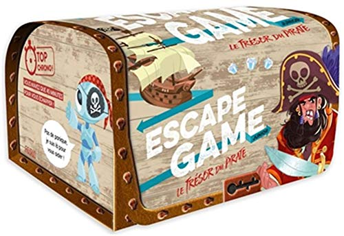 Escape Game Junior. Le trésor du pirate (coffret)