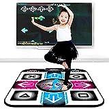 ZCFXGHH Tanzmatte - Tanzspiel für Kinder Jungen und Mädchen, rutschfeste, Tanzschritt-Tanzmatten-Pad-Tänzerdecke mit USB-Anschluss für PC/Fenster 98/2000 /...