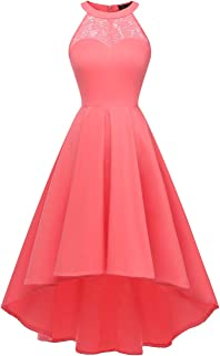 Best coral halter prom dress Reviews