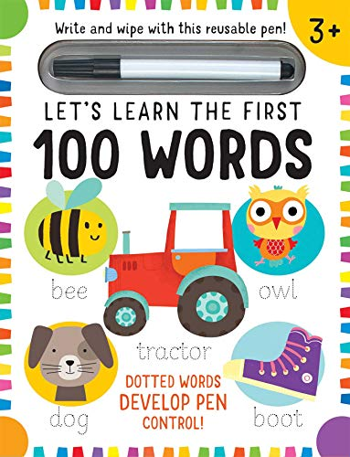 Let's Learn: First 100 Words (Write and Wipe)