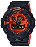 Casio GA700BR-1A G-Shock Men's Watch Black 57.553.418.4mmmm Resin