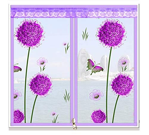 YXB Magnetische vensterschijf, tot 150 cm hoog x 180 cm breed, geschikt voor alle maten kleine afmetingen, eenvoudig te monteren