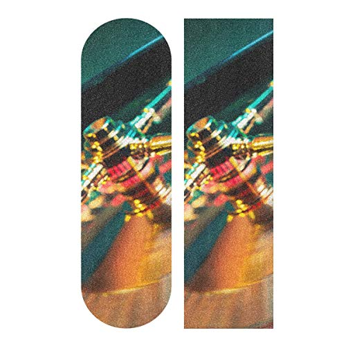 N\A 33,1 x 9,1 Zoll Sport Outdoor Longboard Griffband Casino Roulette Glücksspiel Unterhaltung Drucken Wasserdicht Cool Skateboard Griffband Für Tanzbrett Double Rocker Board Deck 1 Blatt