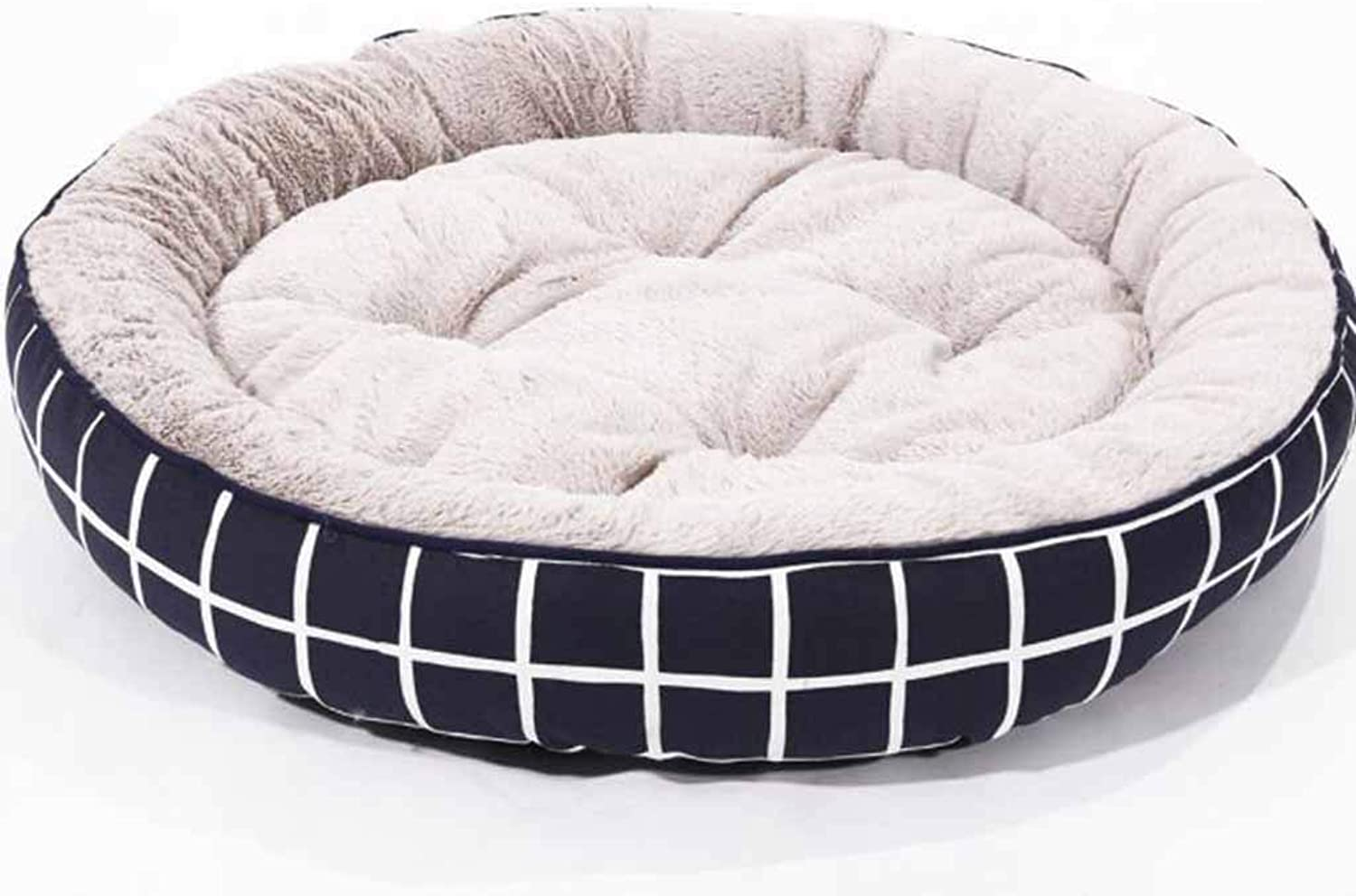 Pet Nest Canvas Round Comfortable Breathable Kennel Cat Litter Three Sizes Optional Pet Supplies,70  15CM