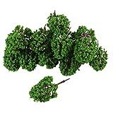 SODIAL(R) 20 Stueck Landschaft Zug Modell Cassia Baeume Massstab 1:100 -150 -
