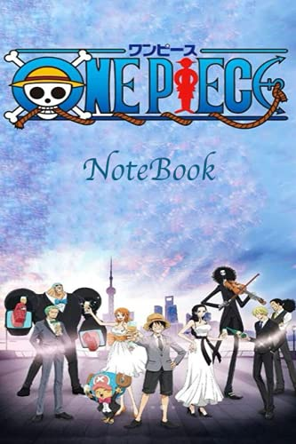One Piece NoteBook: One piece notebook journal for everybody , gift anime , blank lined 120 White Pager, (6 x 9 inches)