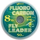 Drennan Fluorocarbon Leader Line/Tippet 8lb 50m