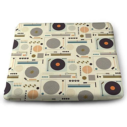 Sitzkissen aus Memory-Schaumstoff für Autositzerhöhung – Sitzkissen für Bürostuhl – Bauhaus Records