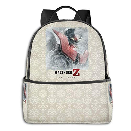 Mazinger Z High-Capacity Fashion Backpack, Portable Backpack for Outdoor Sports