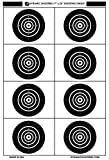 Dynamic Shooters Shooting Range Paper Bullseye Targets-17x25 Inch 50 Pack Made in USA- for Firearm Precision and Accuracy Practice