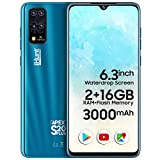 iHunt S20 Plus Apex 2021 | Dual Sim | Desbloqueado de fábrica | 6.3' Waterdrop IPS | 16+2GB | 3000mAh | Android 9 | Azul