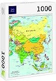 Lais Puzzle Mapa de Asia 1000 Piezas