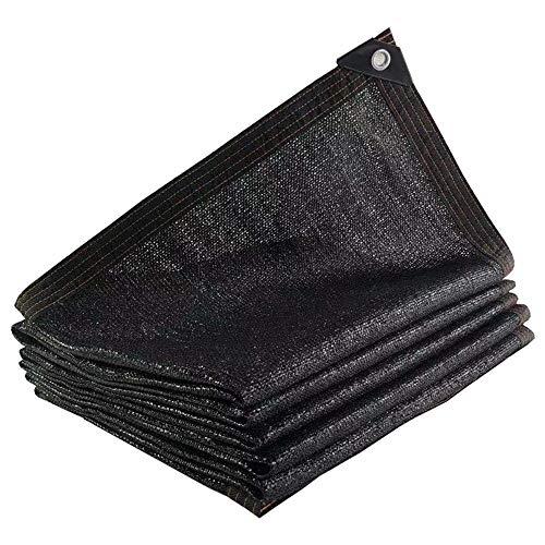 Filet d'ombre Chunlan Shade 18 Taux D'ombrage De Point 95% Auvent Noir Anti-âge San Balcon Net/Cour/Hana Oeillet Épais Coupe Possible (Size : 4x6m)