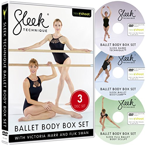 Sleek Technique - Ballet Body Box Set (3 Dvd s)