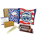 Marshmallow S'mores Ultimate Hamper - Everything You Need To Make Luxury American S'mores - Hamper Exclusive To Burmont's -