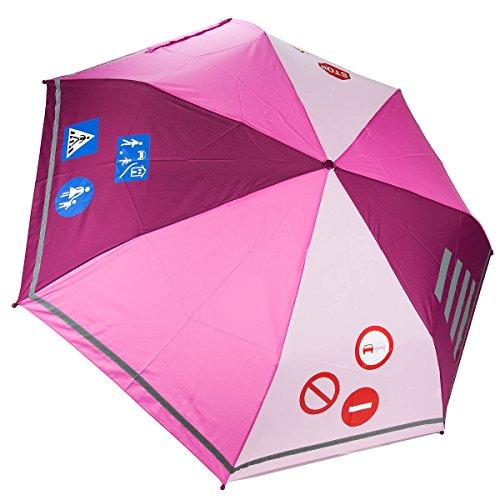 Dr. Neuser enfants Cartable Parasol parapluie poches Écran Enfant 114 RF - - Rosa,