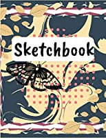 Sketchbook: Colorful cover for your best creations, Notebook for your sketches, drawings and creative writing