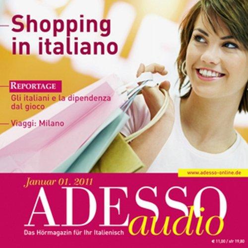 ADESSO audio - Shopping in italiano. 1/2011 Titelbild