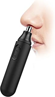 Vefoo Nose Hair Trimmer, Electric Nose and Ear Hair Trimmers Removal Waterproof Stainless Steel Nose Clippers for Men and Women