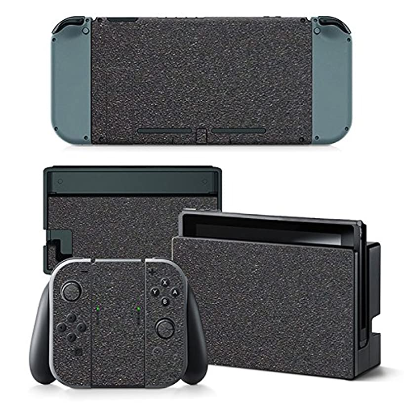 FriendlyTomato Nintendo Switch Console and Controller Skin Set - Grey Color