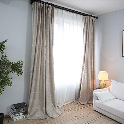 Oogje Gordijn, Creative Plaid Gordijn Zonnescherm Window Blinds for de woonkamer Slaapkamer, 150x270CM 413 (Color : A, Size : 300x270cm)