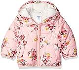 Carter's Girls' Little Fleece Lined Puffer Jacket Coat, Floral, 6X