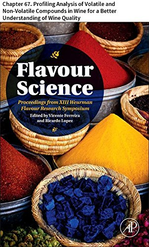 Flavour Science: Chapter 67. Profiling Analysis of Volatile and Non-Volatile Compounds in Wine for a Better Understanding of Wine Quality (English Edition)