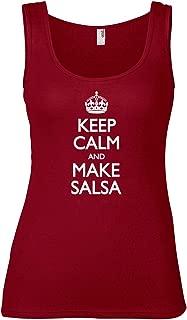 Women's Keep Calm and Make Salsa Tank Top