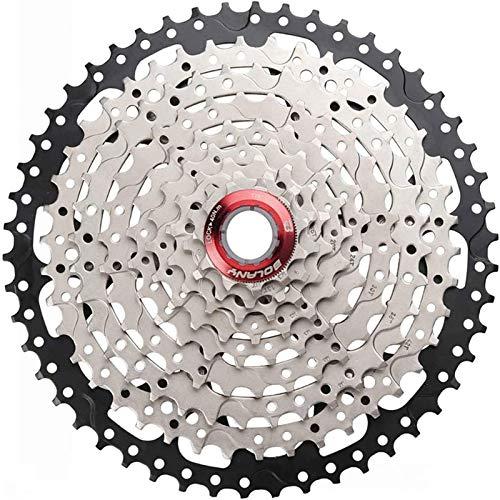 outdecker 10-Gang-Kassette 11-36T / 11-42T / 11-46T / 11-50T Fahrradkassette, Fahrradbox-Kettenrad, für Mountainbike, Rennrad, MTB, BMX,10 Speed 11~40T