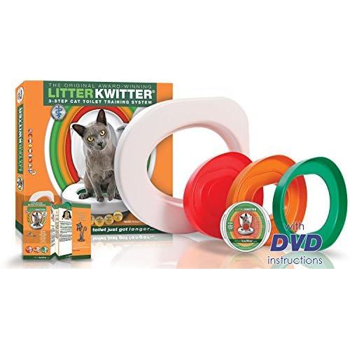 Doogie Stuff Limited Litter Kwitter - Sistema di addestramento all'Uso del WC, per Gatti