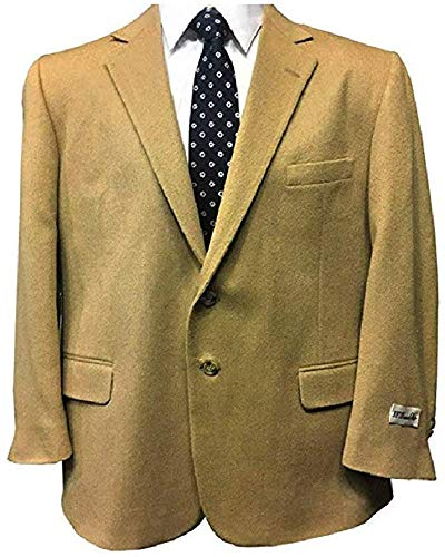 Big and Tall Camel Hair Super Soft Elegant Sport Coat to Size 60 (42 Regular)