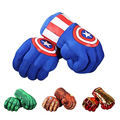 Amazon - Save 50%: illuOKey Captain America Hands for Kids, XIANGQUANWANG Capta…