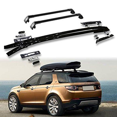 Portaequipajes de 4 piezas para techo de Land Rover New Discovery Sport 2015-2020