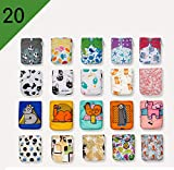 BEST SELLER! 20 KaWaii Baby Printed Snap One Size Pocket Cloth Diaper Shells
