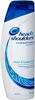 Head & Shoulders Clean & Balanced Shampoo 400ml