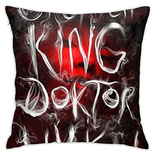 QQIAEJIA Doctor Sleep Stephen King Funda de Almohada Decorativa para el hogar para Hombres / Mujeres Sala de Estar Dormitorio sofá Silla 18X18 Pulgadas Funda de Almohada 45X45cm