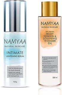 Namyaa Intimate Lightening Serum, 100g for Sensitive skin of Underarms, Inner Thigh, Knee and Bikini