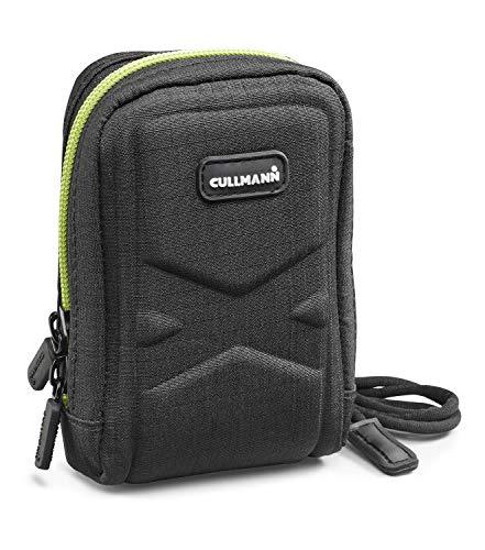 Cullmann - 91580 - Oslo Compact 300 Kameratasche für Kompaktkameras (Innenmaße 70x110x40mm), schwarz/Lemon