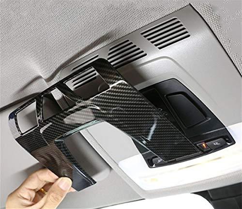 Accesorios de coche interior Marco de la fibra de carbono en color...